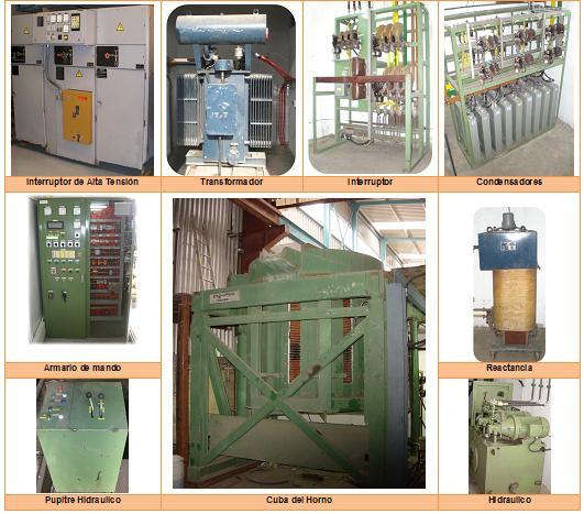 Comprar Horno de inducción Junker 4000 Kg, 1000KW