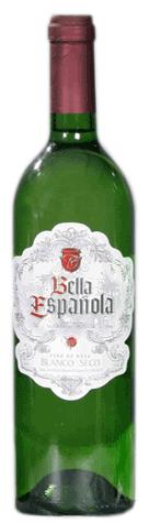 Comprar Vino Blanco de Mesa SecoBella Española
