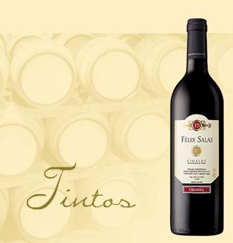 Comprar Vino Tinto Crianza Félix Salas