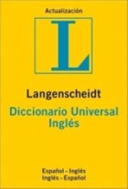 Comprar Diccionario Universal inglés - español