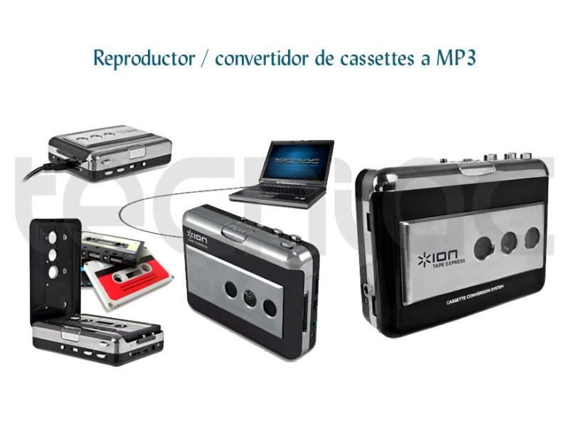 Comprar Reproductor / convertidor de cassettes a MP3