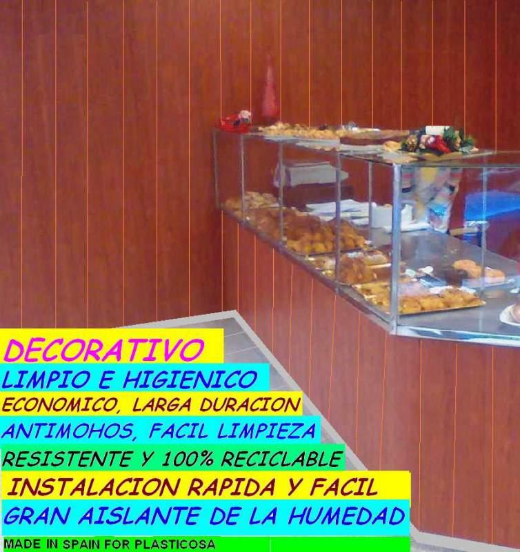 paneles de pvc para paredes y techos