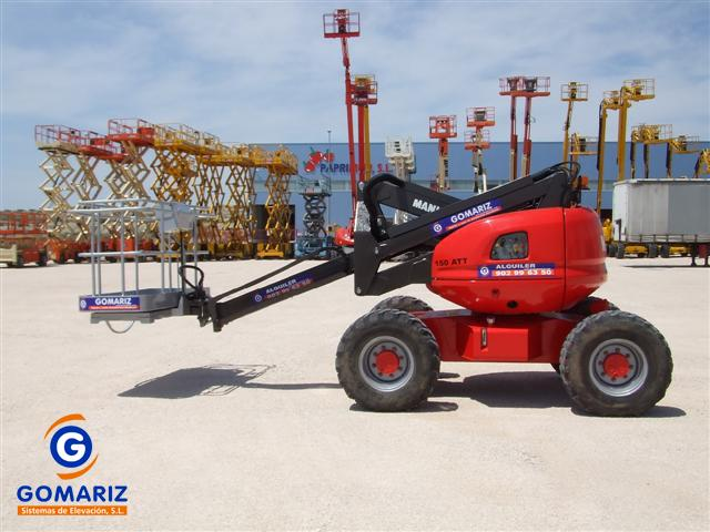 Articulated Boom Lift Manitou 150ATT Diesel 4X4 15 meters