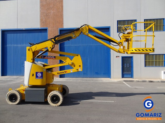 Articulated Boom Lift Haulotte HA12IP Electric 4X2 12 meters