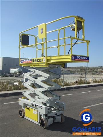 Scissor Lift Iteco IG6080 Electric 4X2 8 meters