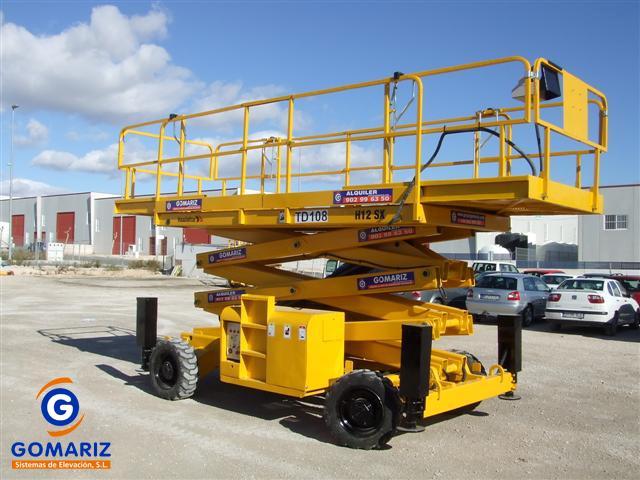 Scissor Lift Haulotte H12SX Diesel 4X4 12 meters