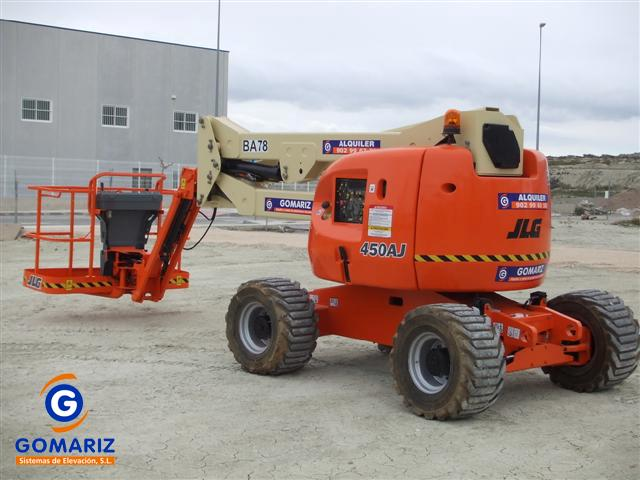 Articulated Boom Lift JLG 450AJ Diesel 4X4 16 meters