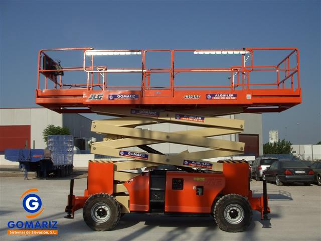 Sissor Lift JLG 4394RT Diesel 4X4 15 meters