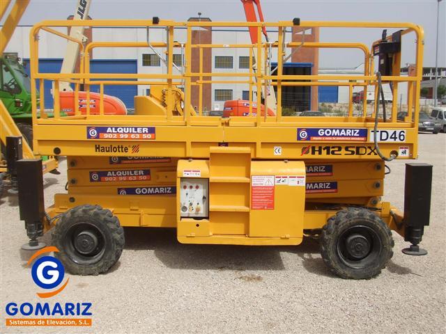Comprar Scissor Lift Haulotte H12SDX Diesel 4X4 12 meters