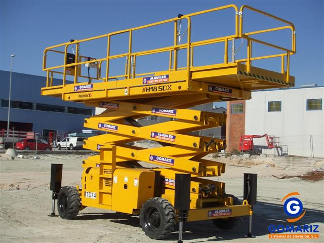 Comprar Scissor Lift Haulotte H18SDX Diesel 4X4 18 meters