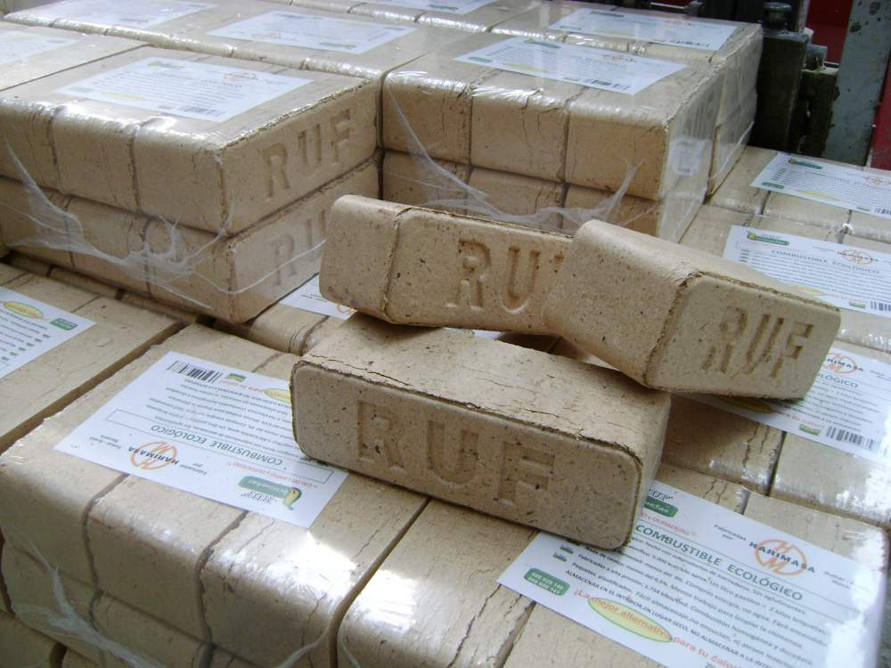 Comprar Briquetas de Madera para chimenea