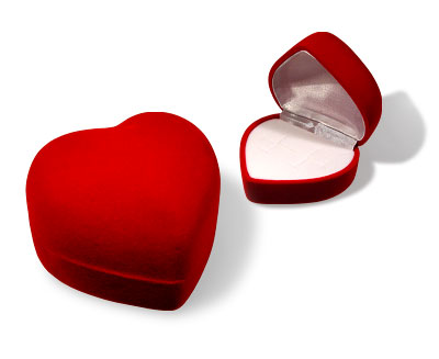 Comprar Cajita Corazón Rojo