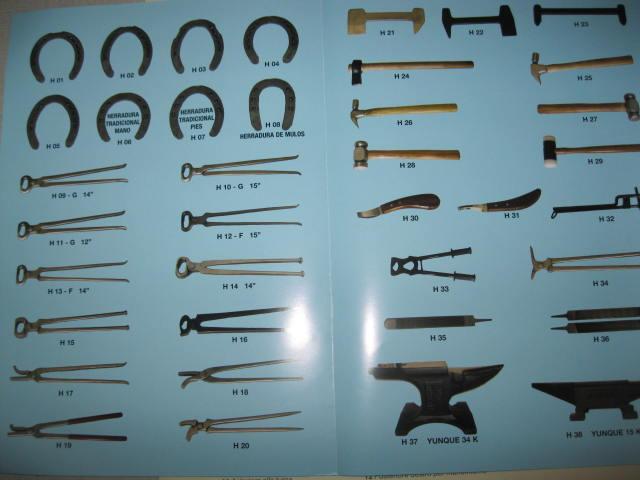 Comprar Herraduras clavos herramientas