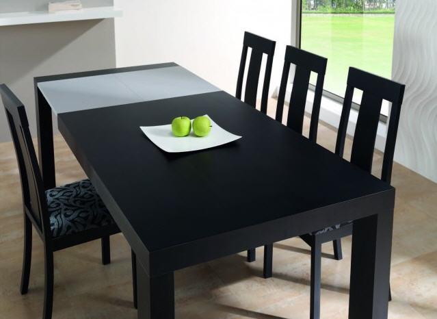 mesas de madera para comedor fotos. mesa extensible para ...