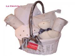 Comprar Canastilla Mini Gris