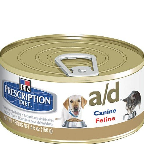 Comprar Comida humeda hill's prescription diet canine/feline a/d 156 gr