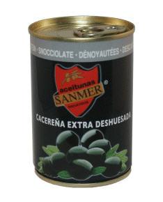 Comprar Aceitunas negras deshuesadas