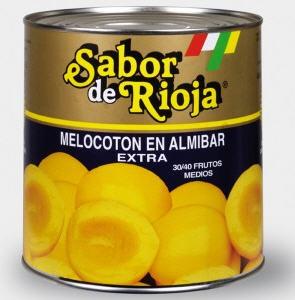 Comprar Melocoton 30-40 frutos 3 kg