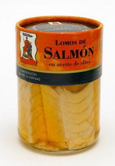 Comprar Lomos de Salmón en Aceite de Oliva