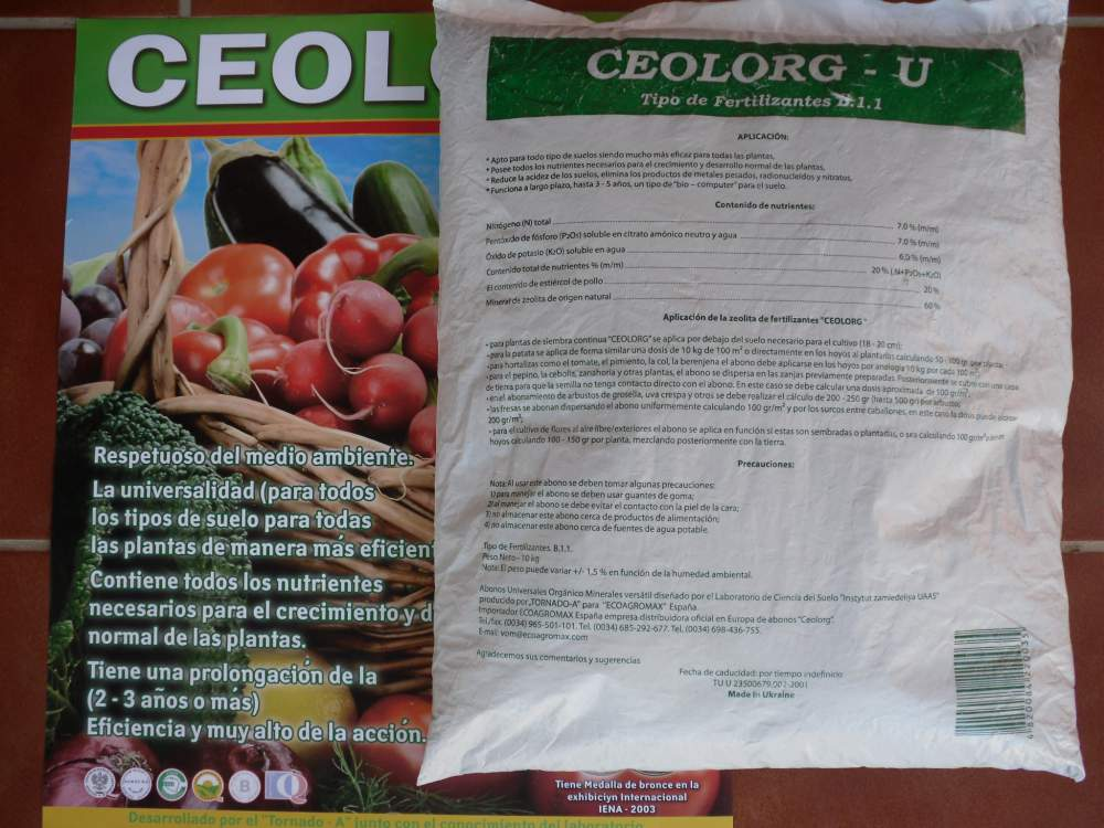 Comprar CEOLORG-U (universal)