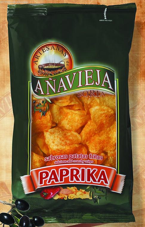 Comprar Patatas fritas en Aceite de Oliva - Páprika