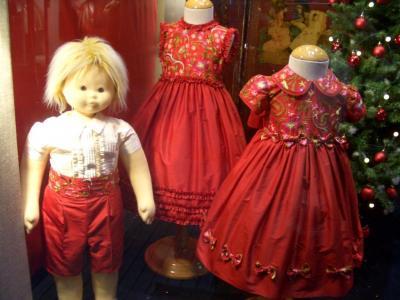 Comprar Seda roja bordada