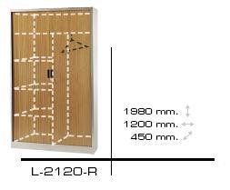 Comprar Armario persiana 1.98