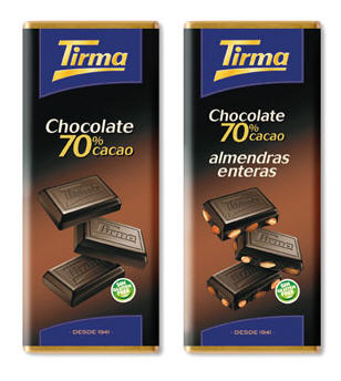 Comprar Chocolate Tirma 70% Cacao