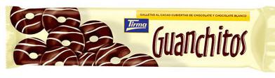 Comprar Guanchitos de chocolate negro 150 g