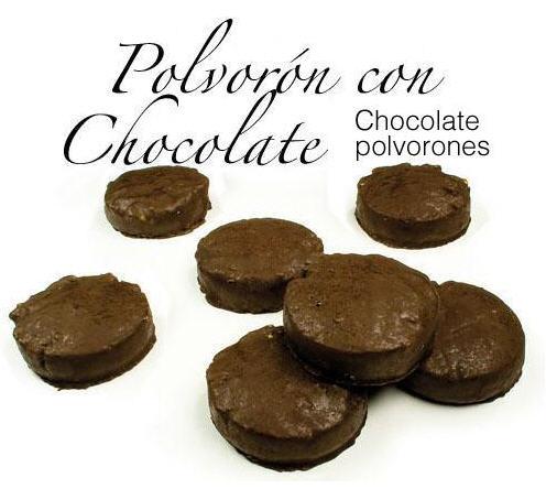 Comprar Polvorón con Chocolate