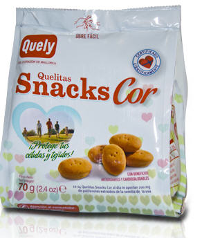 Comprar Quelitas Snacks Cor