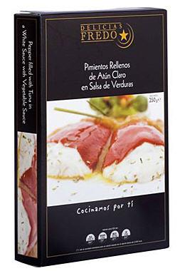 Comprar Pimientos Rellenos de Atún Claro en Salsa de Verduras