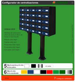 Comprar Configurador de Centralizaciones