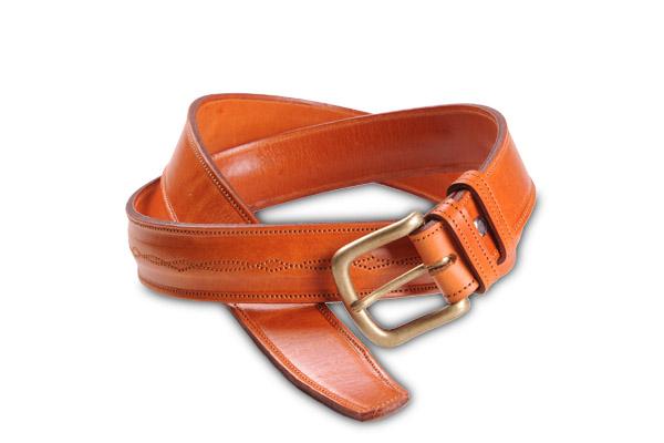 Comprar Cinturón Vaqueta Miel