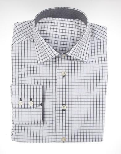 Comprar Camisa cuadros negros/blancos