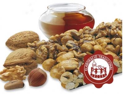 Comprar Turrón de crocant con frutos secos