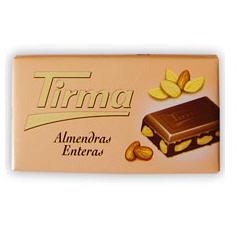Comprar Chocolate con almendras Tirma