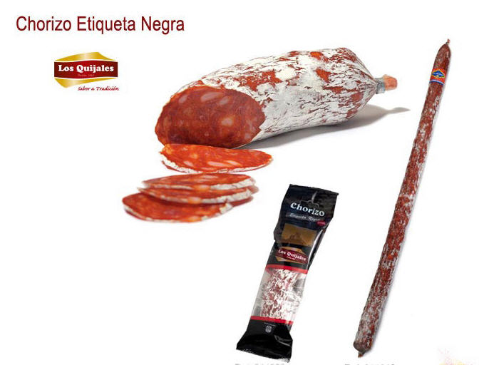 Comprar Chorizo Etiqueta Negra