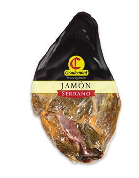 Comprar Jamón Serrano Deshuesado