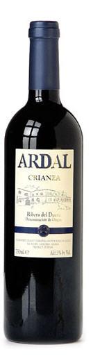 Comprar Ardal crianza 2009