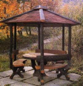 Comprar Muebles de jardin de hormigon de imitacion a madera