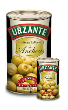 Comprar Aceitunas rellenas de anchoa