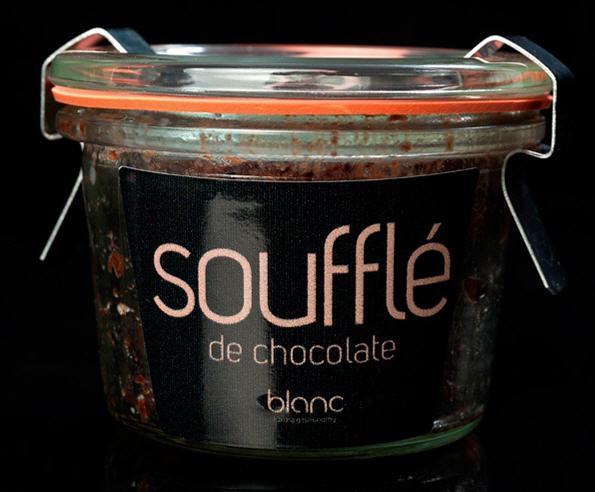 Soufflé de Chocolate al ron