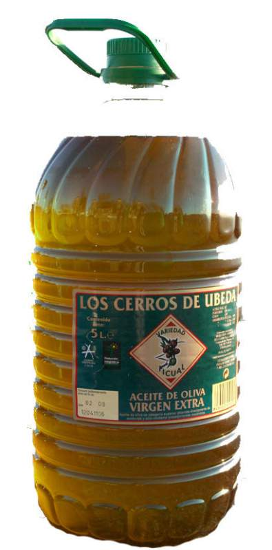 Comprar Aceite de oliva virgen extra picual 0,3º 5l.