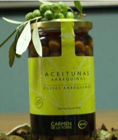 Comprar Aceituna Arbequinas 460 gr.