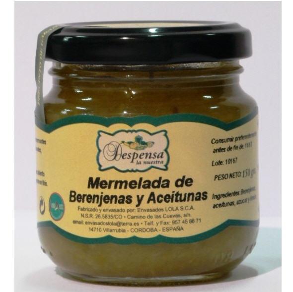 Comprar Mermelada de berenjena y oliva