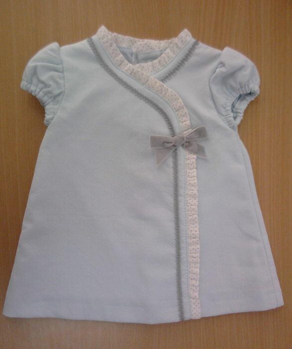 Comprar Vestido bebé con manga corta 100% algodón