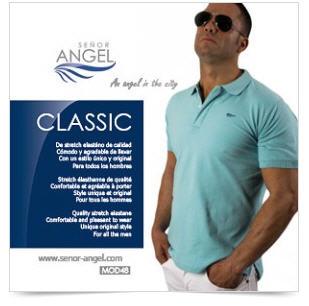 Comprar Polo azul SEÑOR ANGEL MOD48