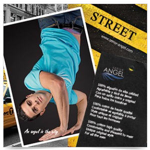 Comprar Camiseta urbano Street turquesa Street SEÑOR ANGEL MOD28