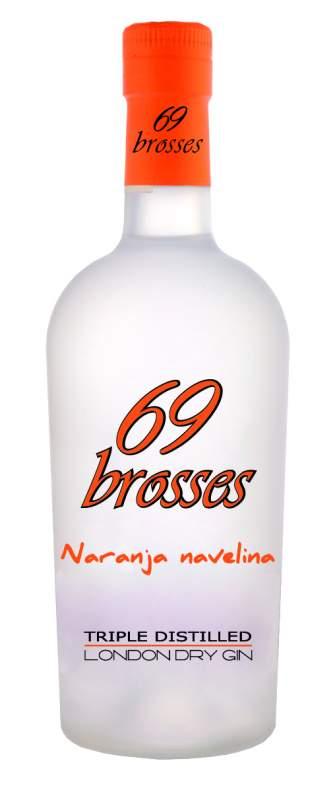 Gin 69 brosses Апельсин navelina